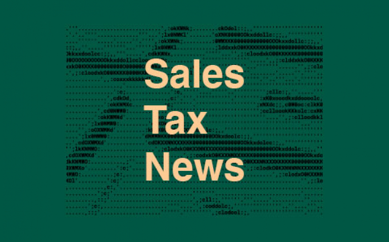 Sales Tax News